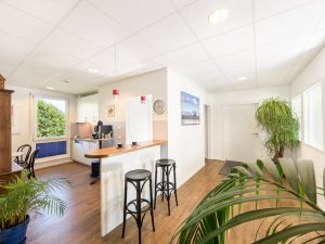 Chiemsee Immobilien Büro Empfang