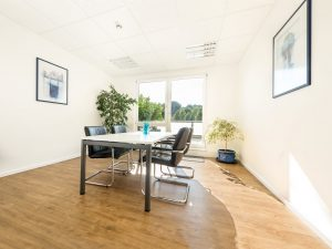 Chiemsee Immobilien Büro, Meetingraum