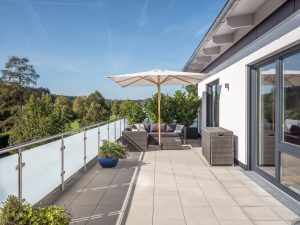 Chiemsee Immobilien Terrasse